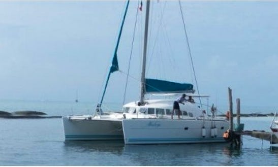 Crewed Charter On 42' Lagoon Sailing Catamaran From Playa Del Carmen