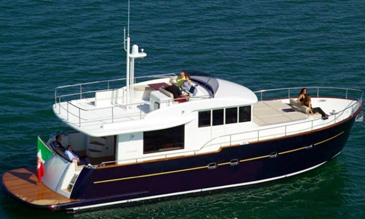 Charter Luxury Motor Yacht in Sardinia Italy