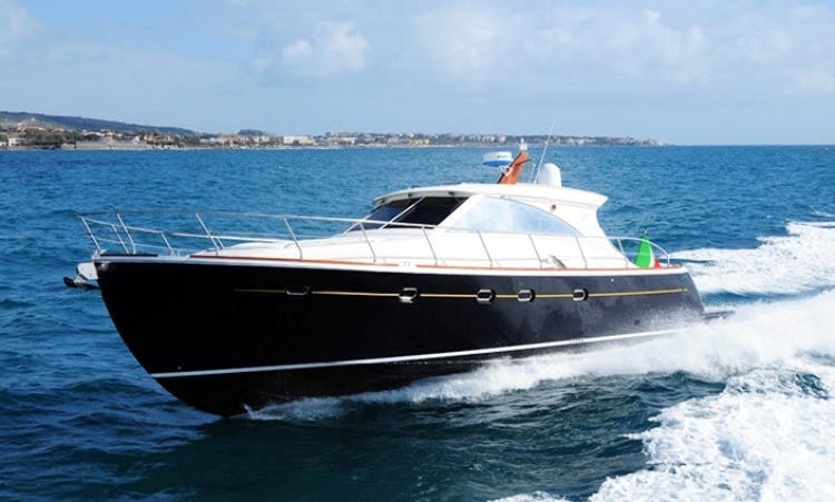 Charter 45' Luxury Motor Yacht in Italy