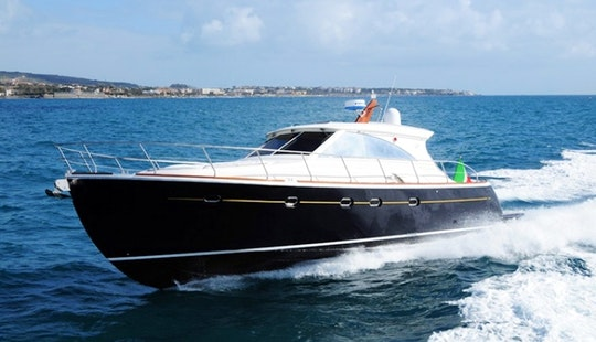 Charter 45' Luxury Motor Yacht In Italy