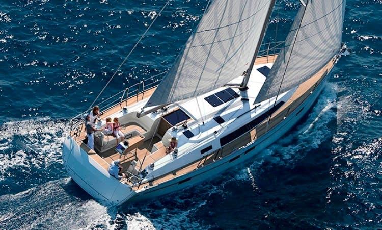 Charter Bavaria 46 Cruiser in Sardinia