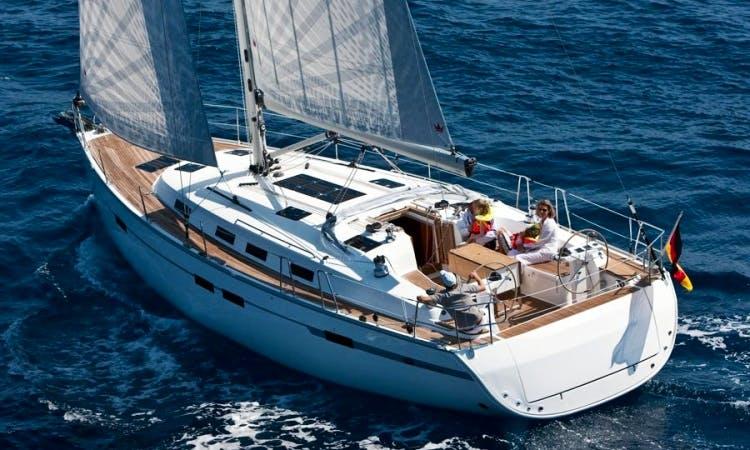 Charter Bavaria 45 Cruiser Sailing Yacht in Italy