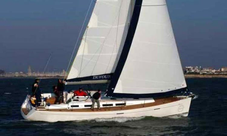 Charter Dufour 42.5 Sailing Yacht in Sardinia
