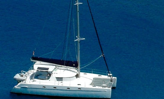 Fountaine Pajot 43 Catamaran In St. Thomas Virgin Islands