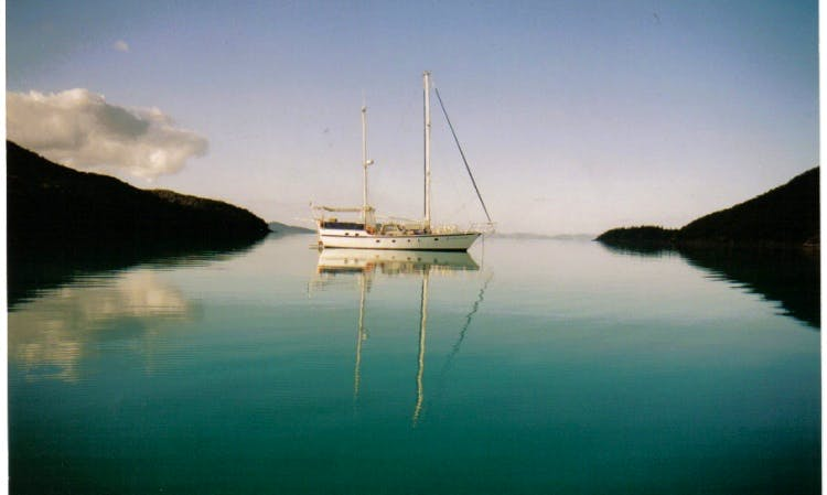 Charter 60' Luxury Ketch from Hamilton Island - Your 5 Star Floating Hotel!
