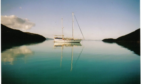 Charter 60' Luxury Ketch From Hamilton Island