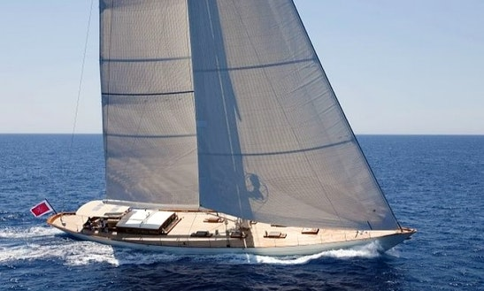 Charter Annagine Luxury Sailing Yacht In Italy