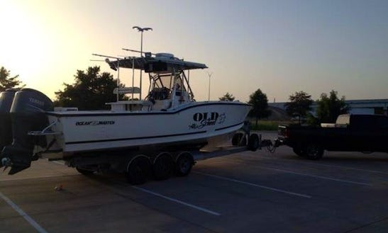 Fishing Charters On 31' Ocean Master Center Console In Freeport, Texas