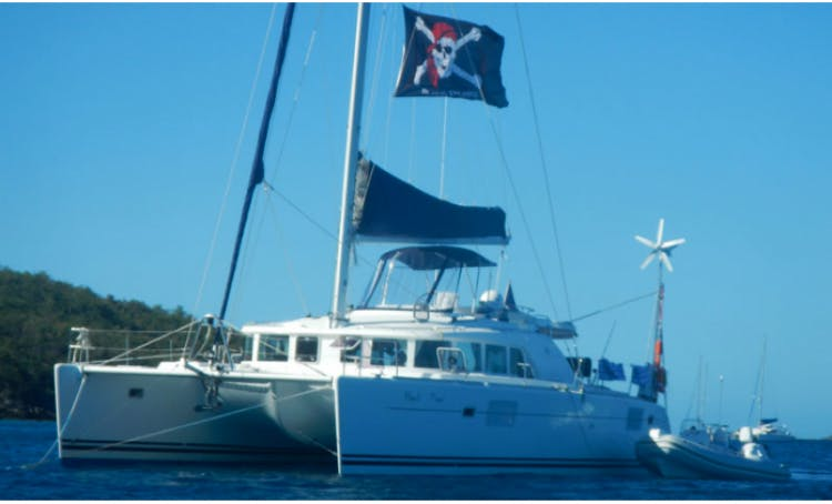 Charter the Black Pearl in St Thomas