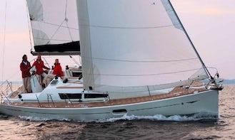 Charter Sailboat Sun Odyssey 36i in Greece