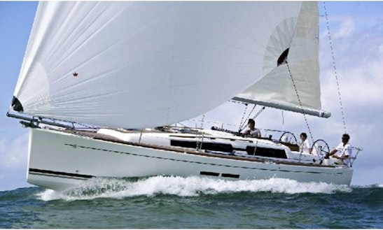 A Beautiful Dufour 375 Sailboat Charter In Gothenburg