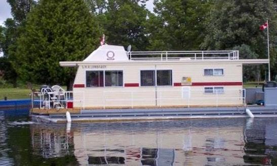 Charter 40' Flybridge With Walkaround Deck In Smiths Falls, Canada