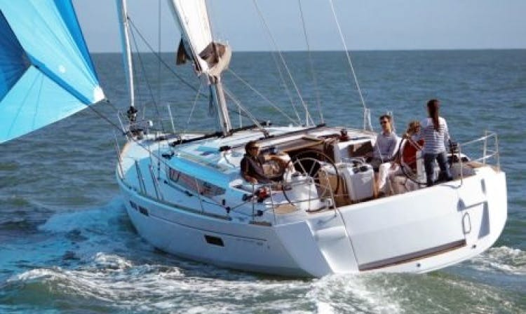 8 Persons 45' Sun Odyssey Sailing Yacht Charter in Italy