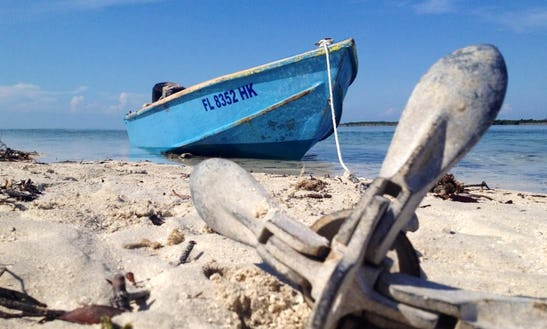 13' Bass Boat In Big Pine Key, Florida