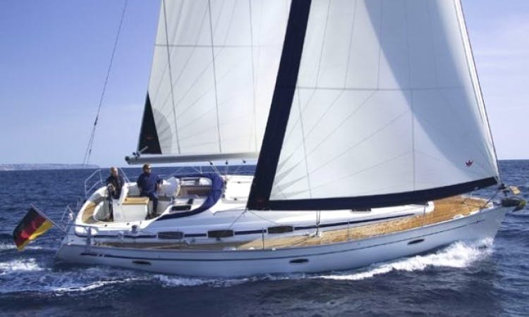 7 People 39' Bavaria Cruiser Sailboat Charter in Sweden