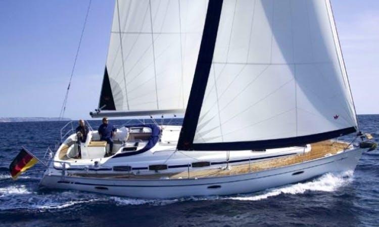 7 People 39' Bavaria Cruiser Sailboat Charter in Sweden