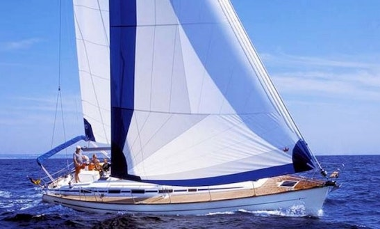 Charter A 44' Bavaria Sailing Yacht For 9 Person In Sweden