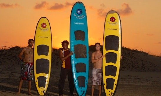 Rent Surfboard In South Padre Island