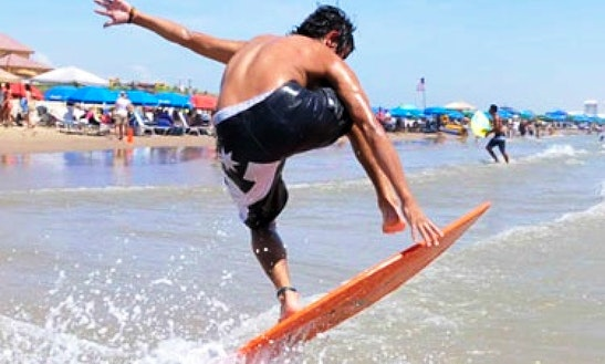 Skim Board Rental In South Padre Islands