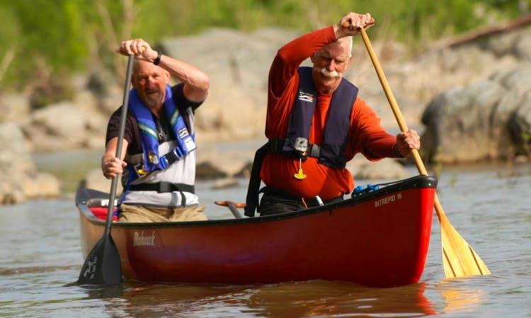 2 Seater Discovery Canoe Rental in Shepherdstown, West Virginia