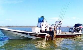 Exciting Galveston Bay Fishin' Adventure Aboard Captain Mark's 22' Tran Sport