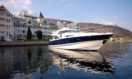 Charter 58' Flybridge Yacht From Bergen Norway