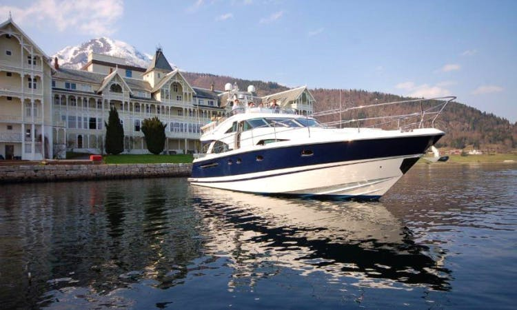 Charter 58' Flybridge Yacht From Bergen Norway