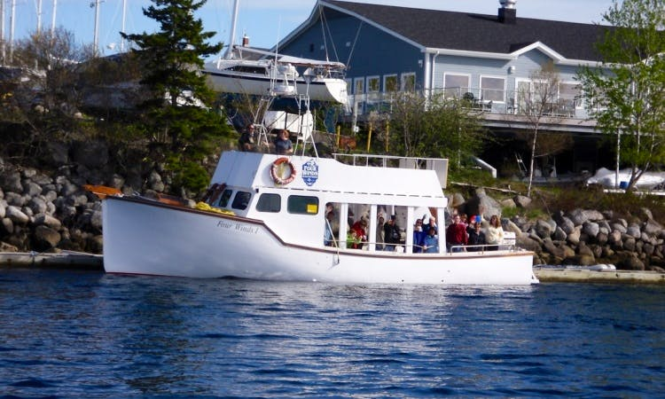50' Headboat Charter in Nova Scotia, Canada