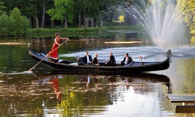 24ft Gondola Canal Boat Rental in Amsterdam, North Holland