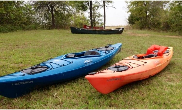 Rent a 12' Kayak in  Colleyville, Texas