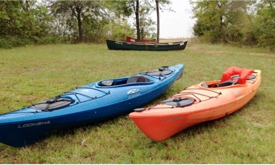 Kayak Rental In Texas