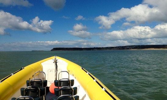 10 Meter Water Jet Rib For Hire In Swansea