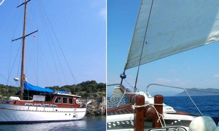 Charter Irina 72' Gulet in Greece