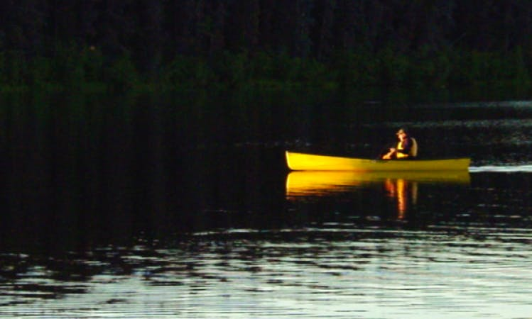 Rent a 14' Canoe in Vanderhoof, Canada