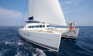 Lagoon 410 Catamaran Charter for 8 Person in British Virgin Islands