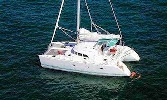 Cruise with the Lagoon 380 Catamaran for 6 Person in Tortola, British Virgin Islands