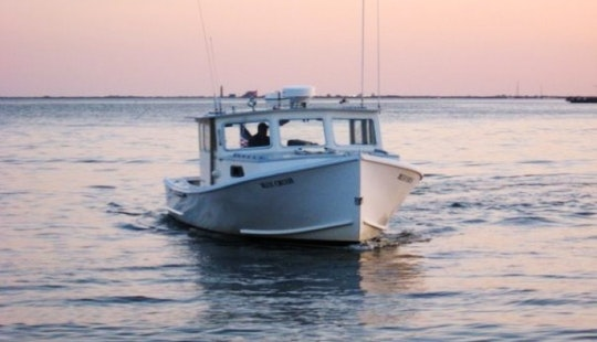 35ft Young Brothers Boat For 6 Person In Montauk, New York
