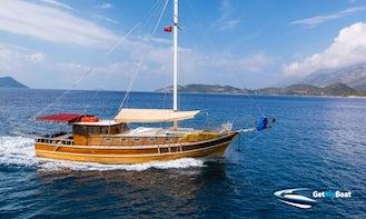 Crewed Gulet Cruise in Turkey