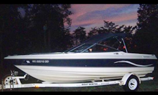 20ft Bayliner Capri 2050 Boat Rental In Six Mile