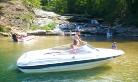 18ft Bayliner Capri 1850 Bowrider Boat Rental In Six Mile, South Carolina