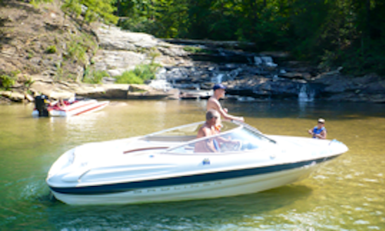 18ft Bayliner Capri 1850 Bowrider Boat Rental In Six Mile, South Carolina