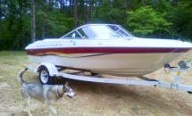18ft Bayliner Capri 1850 Boat Rental In Six Mile, SC