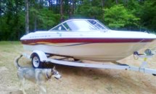 18ft Bayliner Capri 1850 Boat Rental In Six Mile, South Carolina