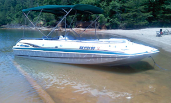 20ft Hurricane 201 Fun Deck Boat Rental In Six Mile, South Carolina
