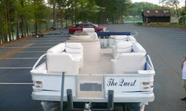 22ft Crest Ski Pontoon Boat for 12 Person in Six Mile, South Carolina