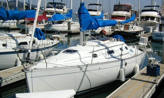 "Explore San Francisco Bay on Beneteau 311 ""Zara"" Sailboat in Sausalito, California"