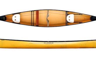 15' Clipper Tripper Ultralight Canoe Rental in Winnipeg, Canada