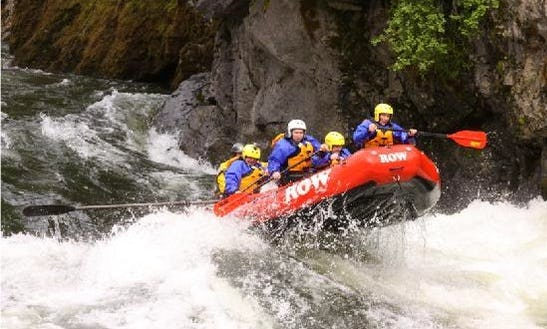 Whitewater Rafting On The Colorado River In Moab, Utah