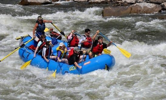 Whitewater Rafting - Rent 16' Paddle Raft In Moab, Utah