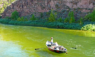 14' Drift Fly Fishing Boat In Green River, Dutch John Utah, United States